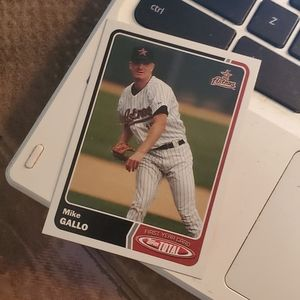 Mike Gallo baseball card